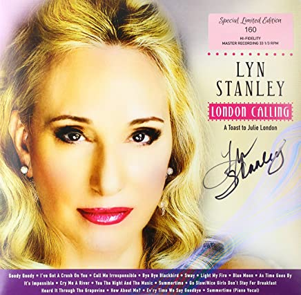 LYN STANLEY - London Calling: A Toast To Julie London -33Rpm