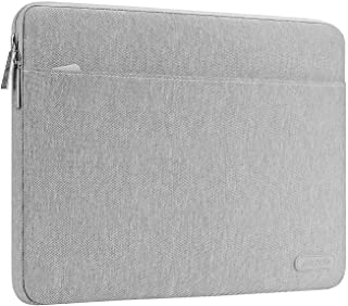 MOSISO Laptop Sleeve Compatible 2019 2018 MacBook Air 13 inch with Retina Display A1932, 2016-2019 MacBook Pro 13 inch A2159 A1989 A1706 A1708, Spill Resistant Polyester Horizontal Case Bag, Gray