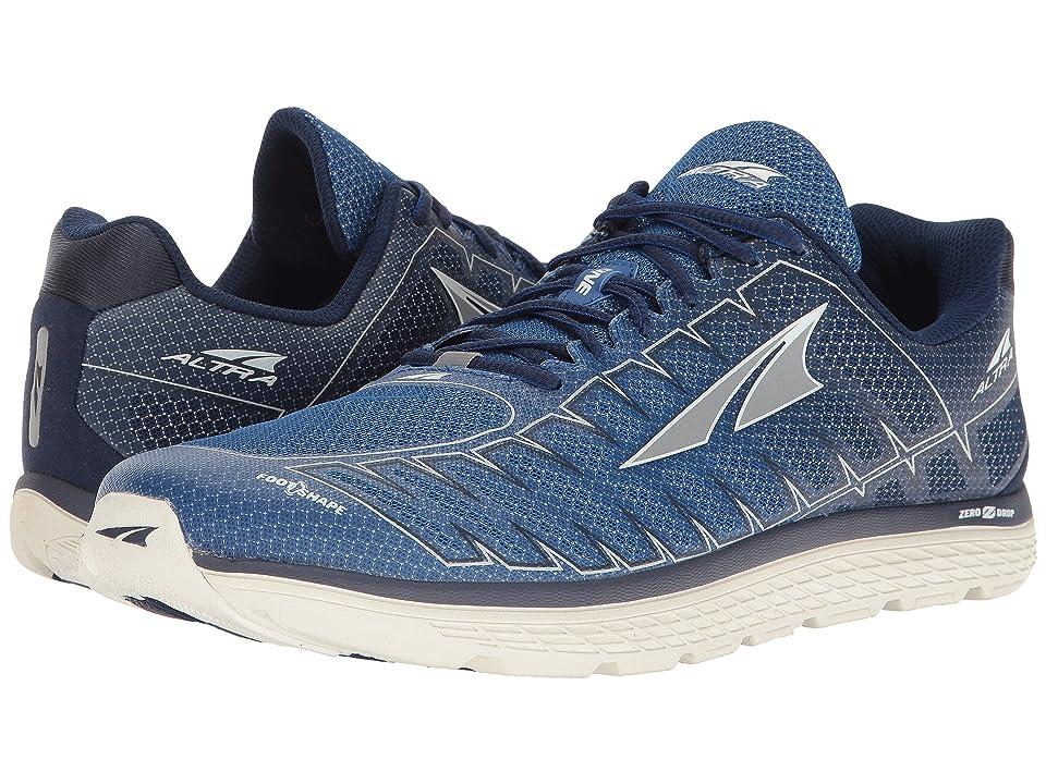 Altra Footwear One V3 (Blue/Gray) Men