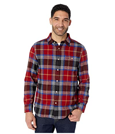 The North Face Long Sleeve Arroyo Flannel Shirt (Cardinal Red Speed Wagon Plaid) Men