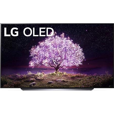 "LG OLED C1 Series 83"" Alexa Built-in 4k Smart TV (3840 x 2160), 120Hz Refresh Rate, AI-Powered 4K, Dolby Cinema, WiSA Ready, Gaming Mode (OLED83C1PUB, 2021)"