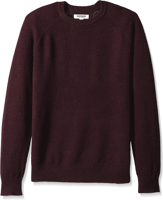 Amazon Brand - Goodthreads Men's Lambswool Crewneck Sweater