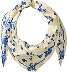 Dutch Nautical Diamond Shape Scarf