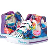 SKECHERS KIDS Twinkle Toes: Shuffles 10836N Lights (Toddler/Little Kid)