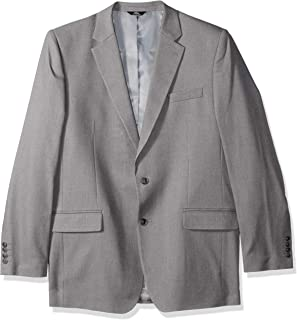 Haggar Men's Solid Gab Stretch Tailored Fit Suit Separate Coat