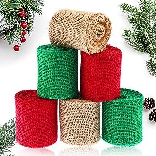 Best christmas burlap fabric Reviews