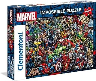 Clementoni Impossible The Marvel 1000-Pieces Puzzle, Multi-Colour