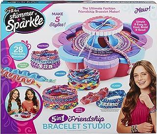 Shimmer and Sparkle 17887 Shimmer N Sparkle - Pulsera de amistad 5 en 1, multicolor , color/modelo surtido