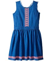 Tommy Hilfiger Kids - Denim Fray Dress (Big Kids)