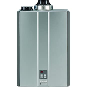 Rinnai RUC98iN Ultra Series Indoor Natural Gas Tankless Water Heater, Twin Pipe