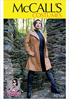 McCall's Patterns M7644E50 Leather Jacket Cosplay Costume Sewing Pattern for Women by Yaya Han, Sizes 14-22
