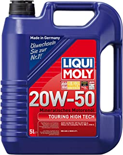 Best Liqui Moly - 1255 (20114 20W-50 Touring High Tech Motor Oil - 5 Liters Review