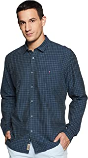 Louis Philippe Jeans Men's Slim fit Casual Shirt