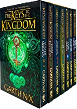 The Keys to the Kingdom Complete Series Books 1 - 7 Collection Box Set by Garth Nix (Mister Monday, Grim Tuesday, Drowned ...
