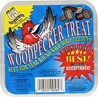 C & S Products Woodpecker Treat, 12-Piece