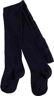 FALKE Strumpfhose Family Baumwolle Baby weiß blau viele weitere Farben Babystrumpfhose dünn ohne Muster einfarbig mit weichem Bund 1 Stück