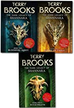 The Dark Legacy of Shannara Series Terry Brooks 3 Books Collection Set (Wards of Faerie, Bloodfire Quest, Witch Wraith)