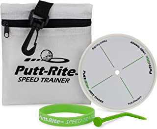 Putt-Rite Speed Trainer - Putting Training Aid to Perfect Putting Speed