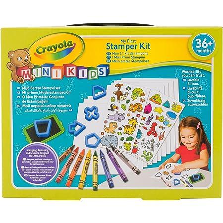 Crayola Mon 1er Kit De Tampons Ancien Loisir Creatif Mini Kids A Partir De 2 Ans Jeu De Dessin Et Coloriage Amazon Fr Jeux Et Jouets