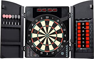 MD Sports Electronic Dartboard Cabinet Set