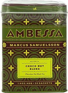 Harney & Sons Ambessa Choco Nut Tea, 20 Tea Sachets