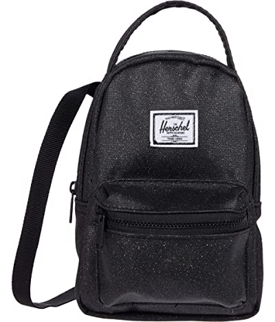 Herschel Supply Co. Nova Crossbody (Black Sparkle) Handbags