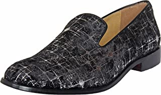 Liberty Mens/Big Boys PU Leather Padded Footbed Tassels/Slip-On/Loafer Shoes
