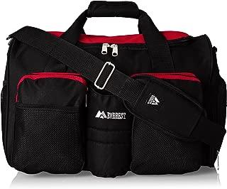 Everest Bolsa de gimnasio con bolsillo húmedo, Rojo, Una talla