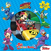 My First Puzzle Book : Disney Mickey Roadsters