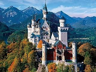 Buffalo Games - Majestic Castles - Neuschwanstein Castle Bavaria - 750 Piece Jigsaw Puzzle