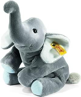 Steiff Little Floppy Trampili Elephant, Grey