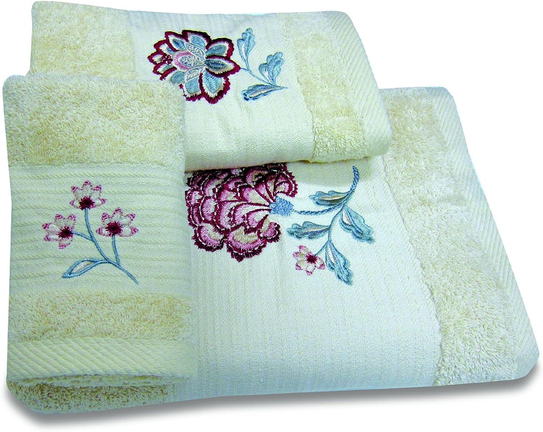 Croscill Romance Fingertip Towel 18-Inch Multi-Color 11 Over item handling ☆ by Spasm price