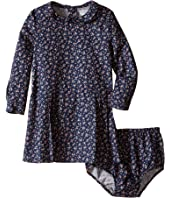 Ralph Lauren Baby - Brushed Twill Floral Dress (Infant)