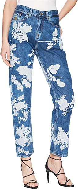 Skytte Jeans in Absence of Rose Printe