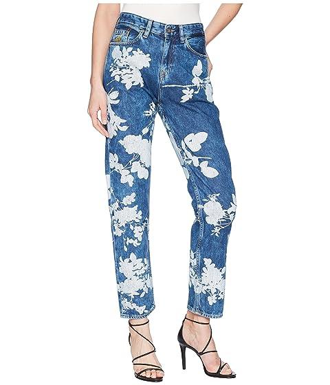 Vivienne Westwood Skytte Jeans in Absence of Rose Printe