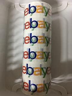 """eBay Branded BOPP 2-mil Packaging Shipping Tape, Pack of (6) 75'x2"""" Rolls"""