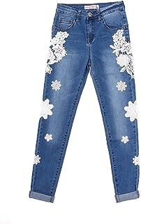 c75ec7dd85 Amazon.it: jeans donna con ricami: Abbigliamento