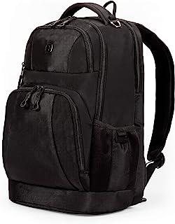 SWISSGEAR Large Padded 15-inch Laptop Backpack | Work, School, Commute | Men's and Women's - Black
