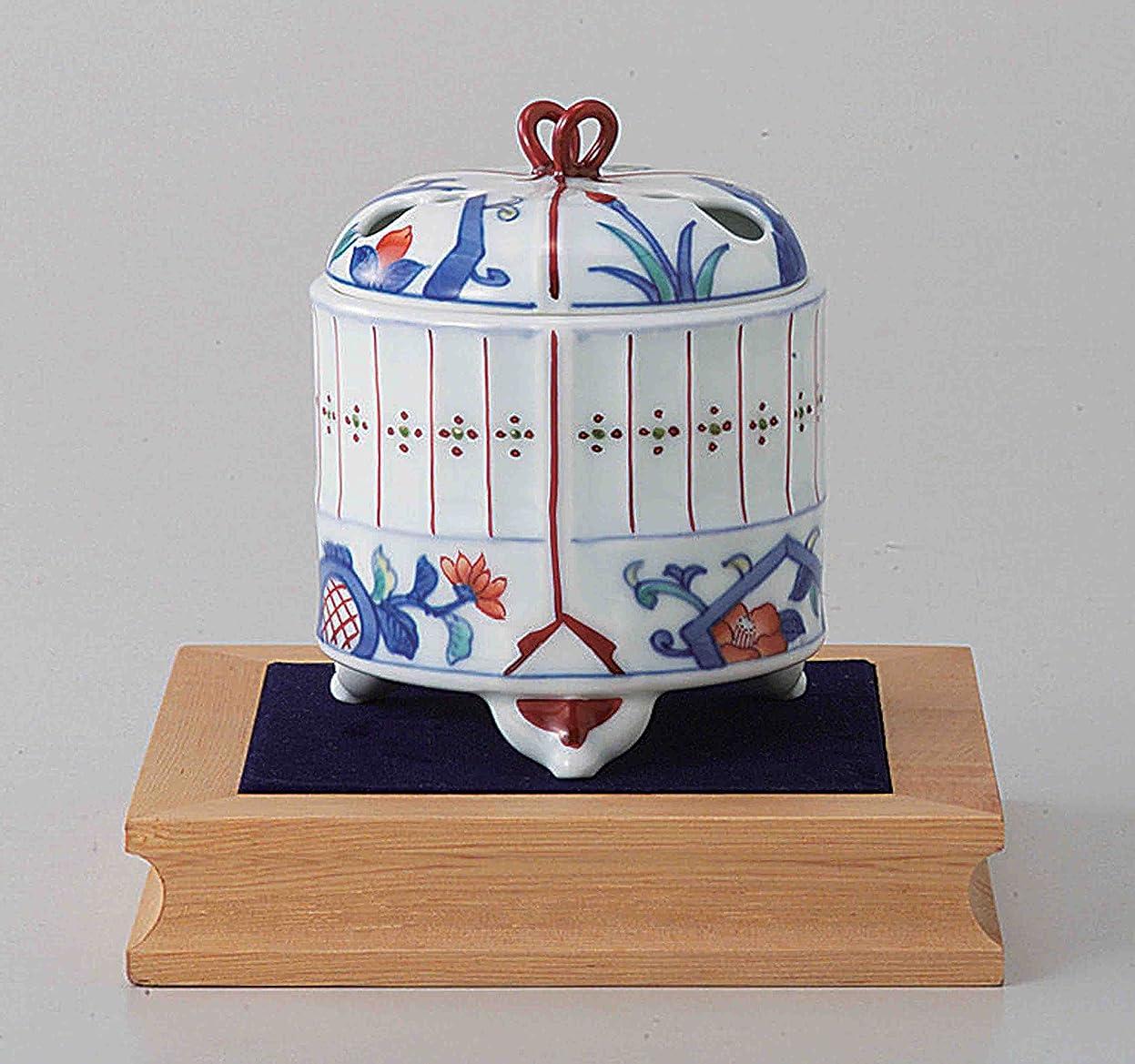 画面ポーズ絶滅した東京抹茶Selection?–?[プレミアム] Arita Porcelain Cencer : Insectケージ?–?Incense BurnerホルダーWベース&ボックス日本から[ EMSで発送標準: withトラッキング&保険]