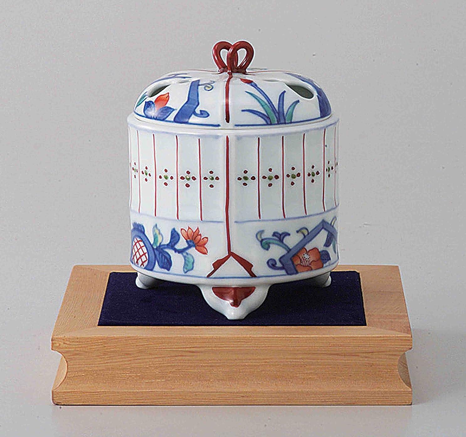 不調和欠伸思想東京抹茶Selection?–?[プレミアム] Arita Porcelain Cencer : Insectケージ?–?Incense BurnerホルダーWベース&ボックス日本から[ EMSで発送標準: withトラッキング&保険]