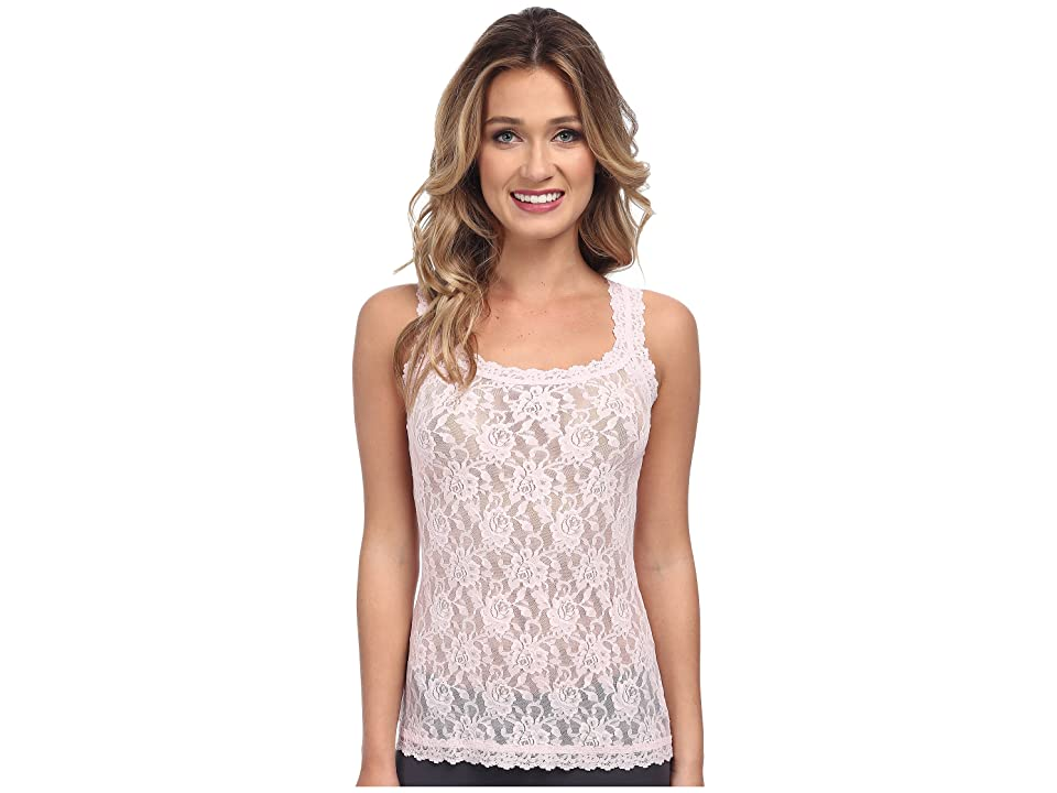 Hanky Panky Signature Lace Unlined Cami (Bliss Pink) Women