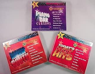 Karaoke Party: 6 CD Bonanza [48-Songs CD+G] - Today's Hot Hits, Piano Bar Classics, Rocking South Hits