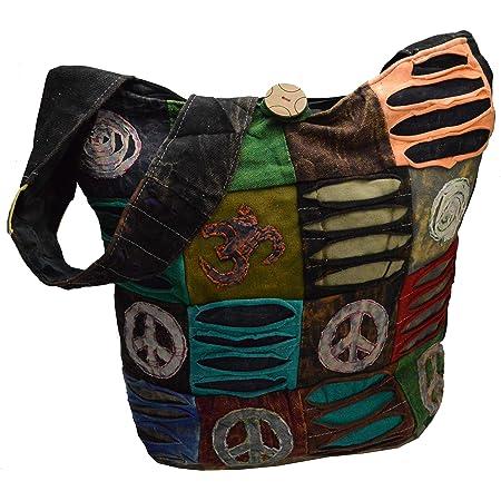 flevado Hippie Yogi Tasche Ohm Handtasche Schultertasche