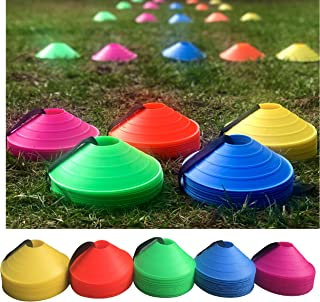 "Cintz 2"" Cones Soccer Field Training Practice Cones Heavy Duty Set of 20"