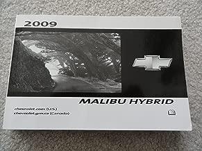 2009 Chevrolet Chevy Malibu Owners Manual