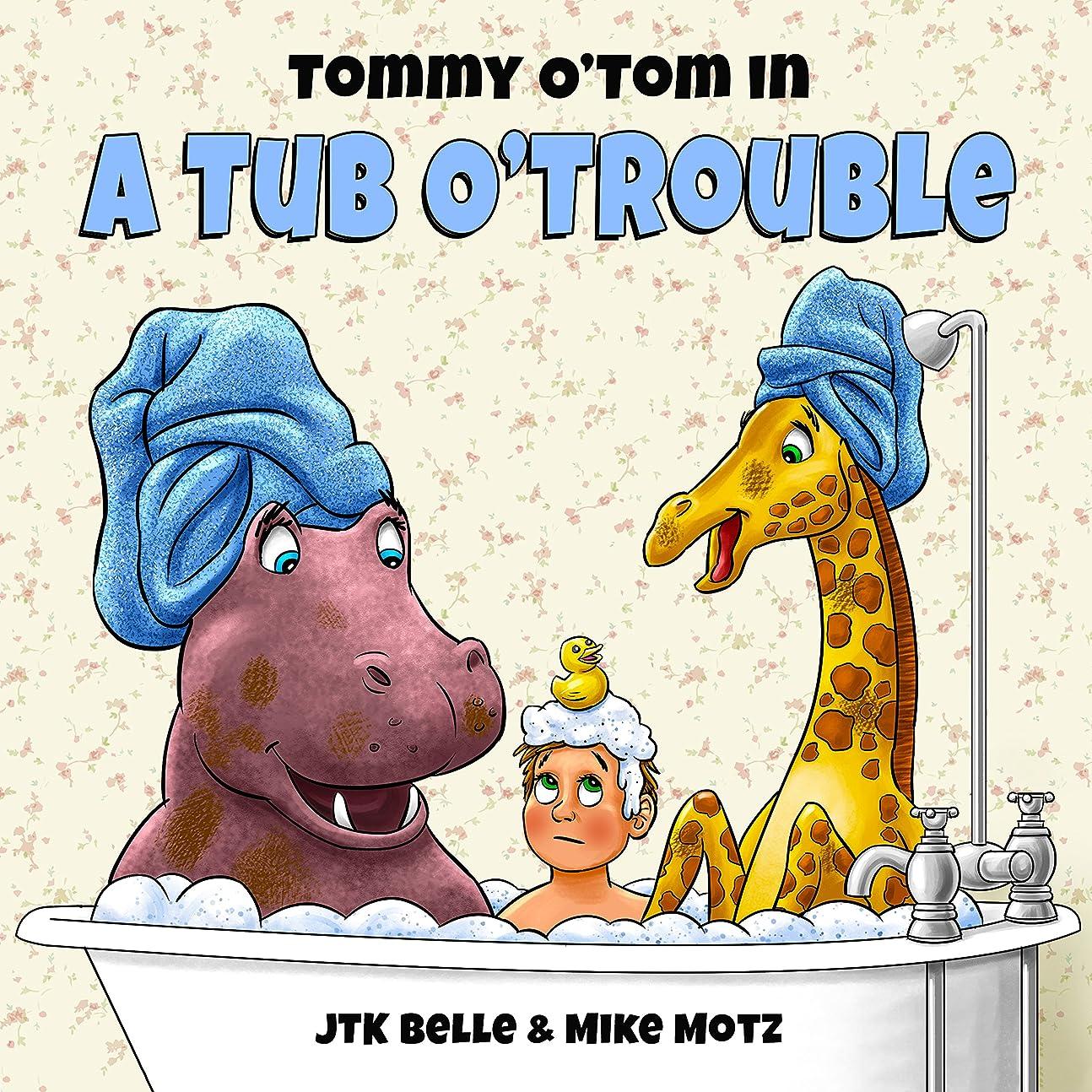 粘性のぐったりバンジージャンプTommy O'Tom in a Tub O'Trouble (English Edition)