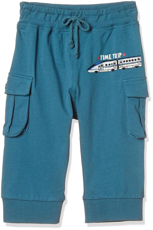 [マザウェイズ] ボーイズ 脇ポケット付 7分丈 ジョガーパンツ AMZA07010