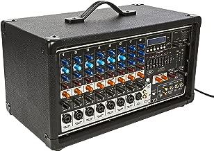 Peavey PVI8500 400-Watt 7-Channel Powered Mixer Item Number 03601860