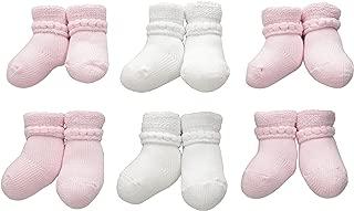 Trimfit Baby Girls' Cotton Bootie 6-Pack