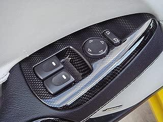 Performance Corvettes 2005-2013 C6 Corvette Carbon Fiber HydroGraphics Interior Window Switches 08 GM